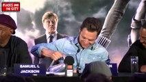 Captain America The Winter Soldier Interviews - Chris Evans, Scarlett Johansson, Samuel L. Jackson