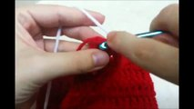 CROCHET How to #Crochet Christmas Stocking with Picture Frame #TUTORIAL #156 LEARN CROCHET