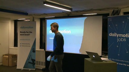 Using Go to build a REST API: yes, it's a good match! - Vincent BEHAR & Mina GENDI - Paris API meetup #30 @Dailymotion HQ