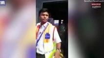 Delhi : Le passager d'un vol projeté au sol par le personnel d'un aéroport (vidéo)