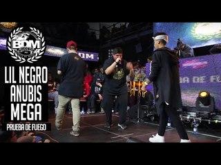 BDM Gold Chile 2017 / Prueba de Fuego / LIL NEGRO vs ANUBIS vs MEGA