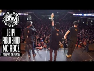 BDM Gold Chile 2017 / Prueba de Fuego / JEIPI vs PABLO SHINO vs MC ABCZ