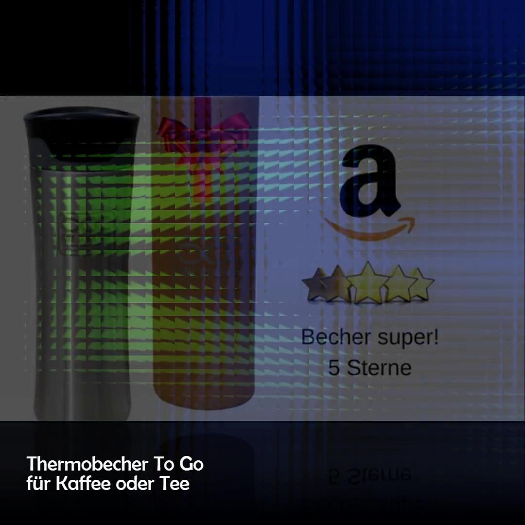 Thermobecher Edelstahl