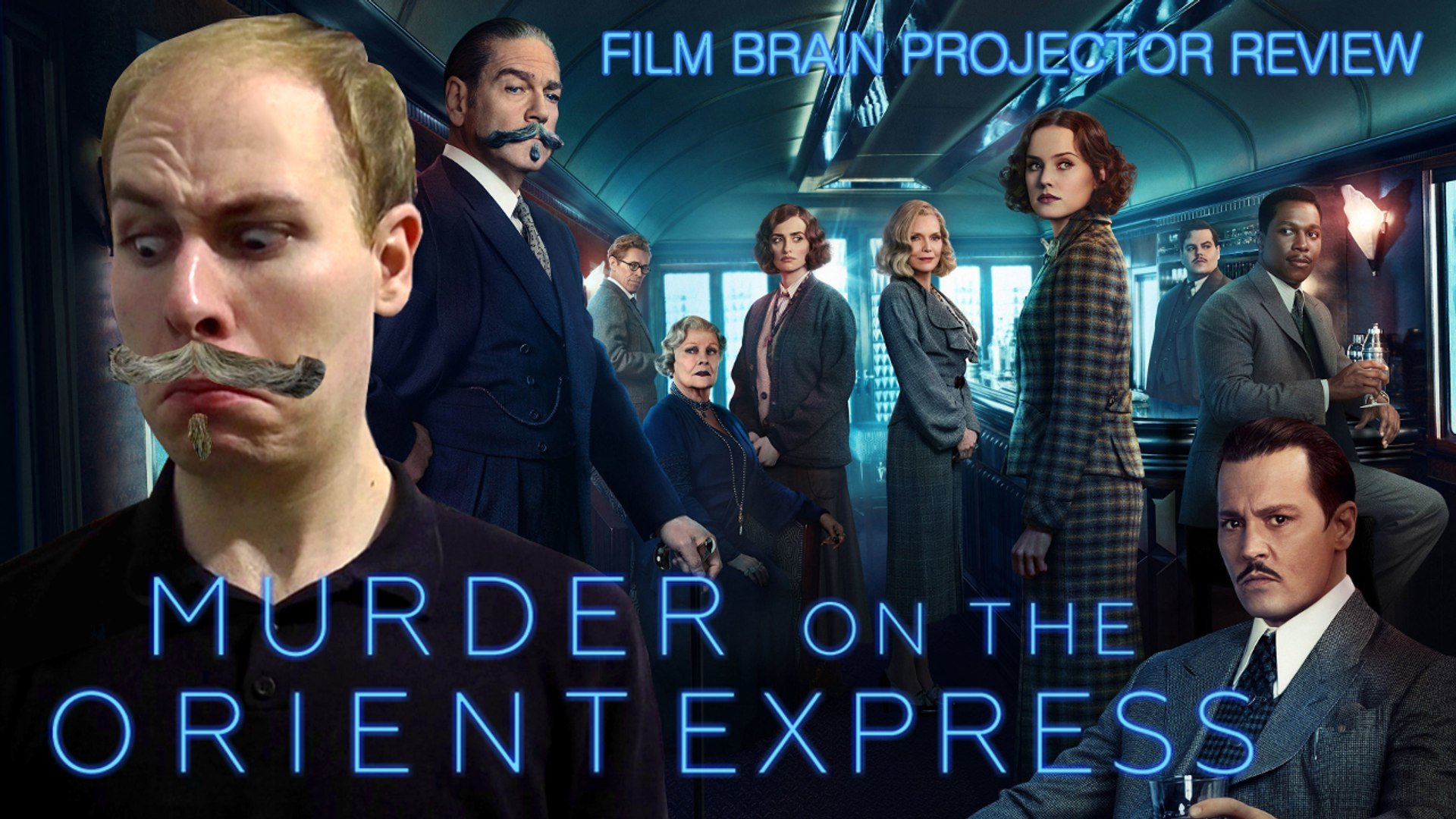 Projector Murder On The Orient Express 2017 Review Video