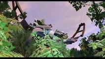 LEGO DINOSAURS Lego Jurassic World Dinosaur fights Lego Jurassic Park T-rex battle