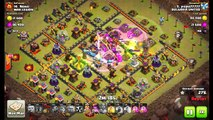 Clash of clans | Attack Valkyries and Hogs | CLAN WAR TH11 vs TH11 | WAR LEGION - 9 x 3 stars