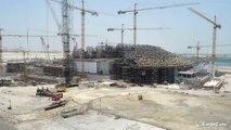 Time-lapse de construction du Louvre à Abu Dhabi par l'architecte Jean Nouvel