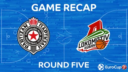 7Days EuroCup Highlights Regular Season, Round 5: Partizan 83-93 Lokomotiv