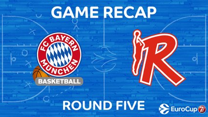 7Days EuroCup Highlights Regular Season, Round 5: Bayern 83-58 Reggio Emilia
