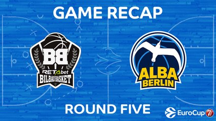 7Days EuroCup Highlights Regular Season, Round 5: Bilbao 86-94 ALBA