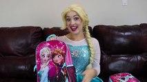 BACK TO SCHOOL Supplies Haul w_ Frozen Elsa Spiderman Pancake Art Challenge Fun in real life IRL | Superheroes | Spiderman | Superman | Frozen Elsa | Joker