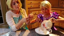DO NOT MAKE FLUFFY SLIME AT 3AM!! SO SCARY w_ Frozen Elsa Rapunzel Spiderman Ghost Makeup Challenge | Superheroes | Spiderman | Superman | Frozen Elsa | Joker