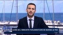 France : levée de l'immunité parlementaire de Marine Le Pen