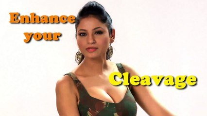 How to Enhance Your Cleavage by MakeUp