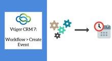Vtiger CRM - Create Calendar Events using Workflows