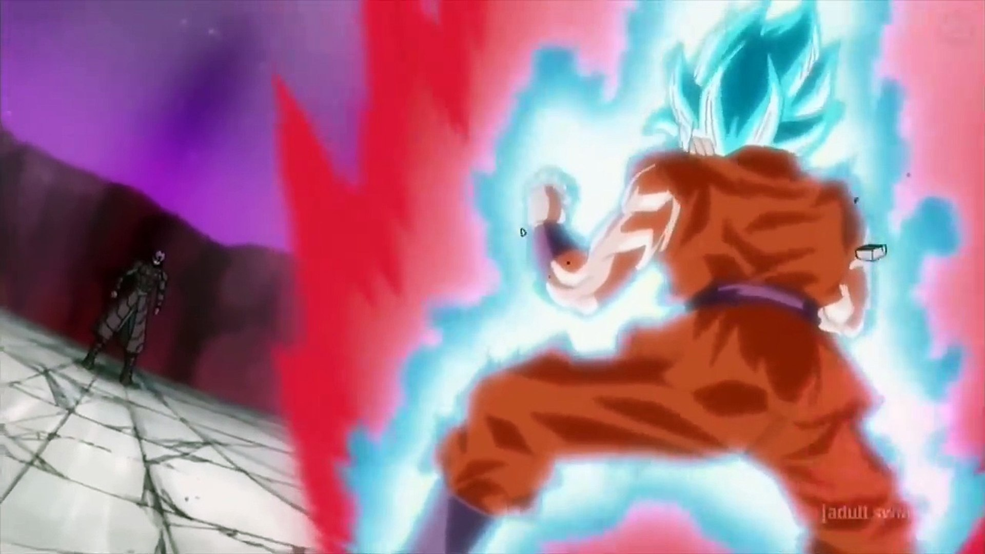 Goku Ssj Blue Kaioken X10 Vs Hit English Dub Dragon Ball Super