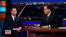 Celebs Nick Kroll And Lin-Manuel Miranda Join Stephen Colbert to Aid Puerto Rico-XIvv3aoofHw