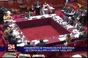 Congresistas se pronuncian por insistencia de convocar a PPK a Comisión Lava Jato