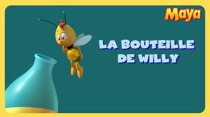 Maya l'abeille - La bouteille de Willy