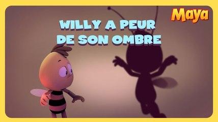 Maya l'abeille - Willy à peur de son ombre