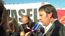 Le DPF bloqué par les grévistes des sites industriels de l'Etang