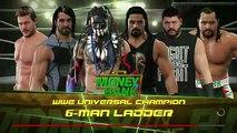 WWE 2K17 -Kevin Owens vs Reigns vs Rollins vs Jericho vs Finn Bálor vs Rusev- 6 man Ladder Match