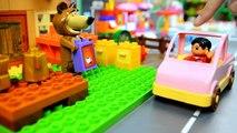 MASHA E ORSO 1-6 EPISODI ITALIANO cartoni animati completi per bambini piccoli mattoncini PLAYBIG