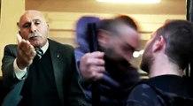 Pappalardo contro il giornalista che si è preso la capocciata