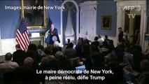 A peine réélu, le maire démocrate de New York défie Trump