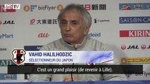 """""""On joue chez moi"""" à Lille, """"on sera obligé de gagner"""" contre le Brésil s'amuse Halilhodzic, sélectionneur du Japon"""