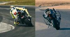 Une moto autonome fait une course sur circuit contre Valentino Rossi !
