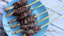 How to Make Vietnamese Beef and Lemongrass Skewers - Asian BBQ Series