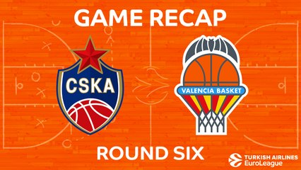 EuroLeague 2017-18 Highlights Regular Season Round 6 video: CSKA 94-67 Valencia