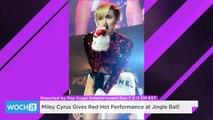 Miley Cyrus Gives Red Hot Performance At Jingle Ball!