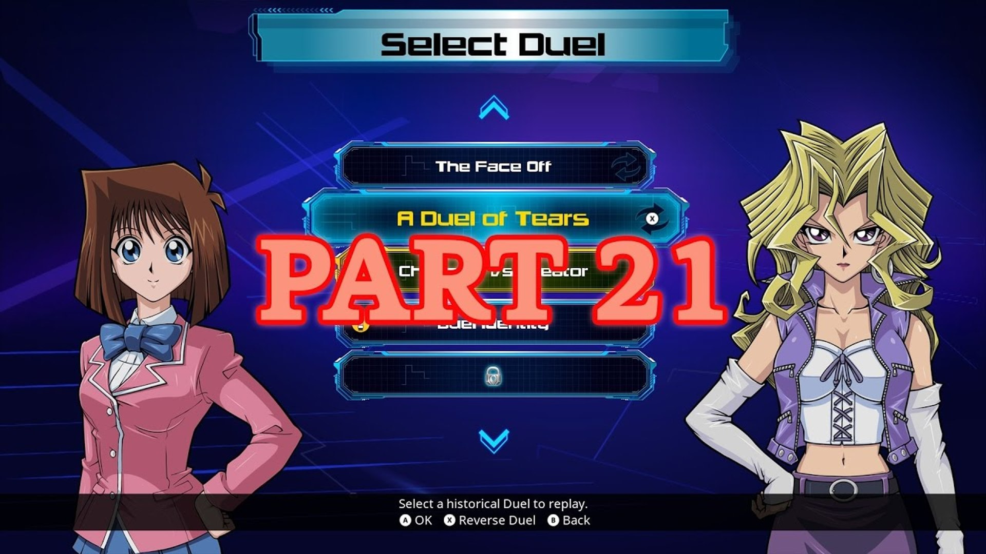 Yu-Gi-Oh! Legacy of the Duelist (PC) 100% - Original - Part 21: A Duel of Tears