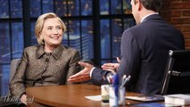The Clintons Stop By 'Late Night' to Poke Fun at Current Events | THR News