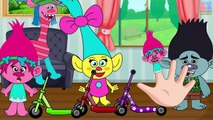 Trolls Poppy and Daddy Branch Crying Attacked by Giant Poppys Babys Finger Family Full Episode