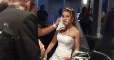 Groom's Wedding Cake Shenanigans Leave Bride Bloody