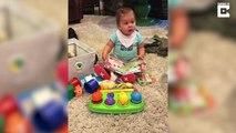 Ce bébé pleure... dès que sa maman chante une douce chanson !