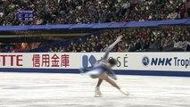 NHK 2017 Evgenia MEDVEDEVA SP