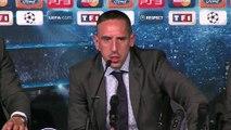 """Franck Ribéry """"content de revenir à Marseille""""."""