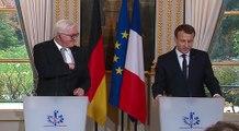 Déclaration conjointe du Président de la République, Emmanuel Macron, et de Frank-Walter Steinmeier, Président de la République fédérale d'Allemagne