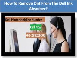 How to Replace the Ink Absorber on a Canon Printer - video