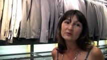"""Maggy, gérante d""""un magasin de prêt à porter aux Allées Provençales"""