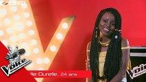 Intégrale Michelle Durelle Audition à l'aveugle The Voice Afrique francophone 2017