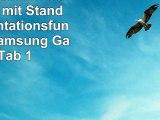 StilGut UltraSlim Case Tasche mit Stand und Präsentationsfunktion für Samsung Galaxy Tab