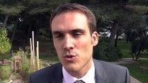 L'interview de Simon Babre, sous-préfet d'Istres, après la cérémonie.