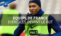 Reprises de volée et parades au Stade de France,