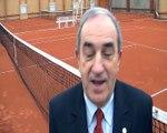 Jean Gachassin, le président de la Fédération française de Tennis