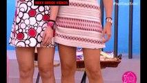 mini skirt OOPS collection HOTBelle presentatrici  scoscio, scollo e cosce! OOPS COMPILATION